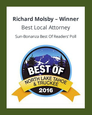 Richard Molsby-Winner Best Local Attorney